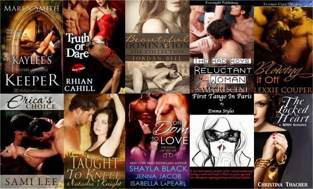 Top Ten erotica novels