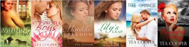 Tea Cooper books
