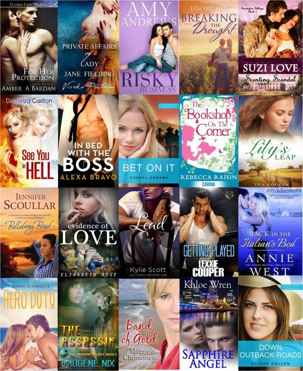 Top 20 OzRomance recent releases