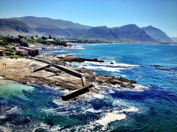 Old Harbour in Hermanus, South Africa