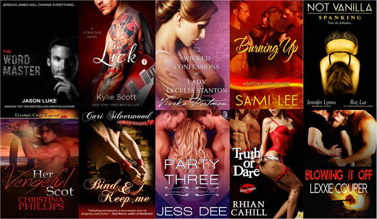 The 10 Erotic/Erotic Romance Novels You *Need* To Read