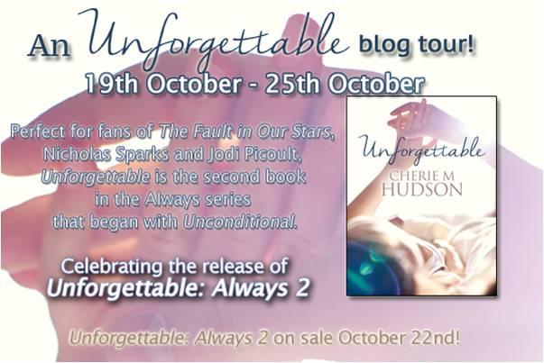 Cherie M Hudson blog tour