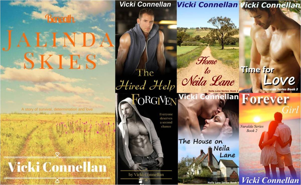 AUSSIE MONTH with Vicki Connellan