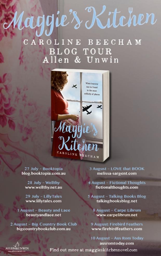 Maggies Kitchen Blog Tour poster