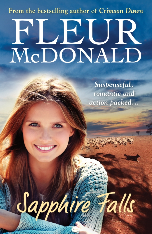 Sapphire Falls by Fleur McDonald is published by Allen & Unwin, RRP $29.99, available now.