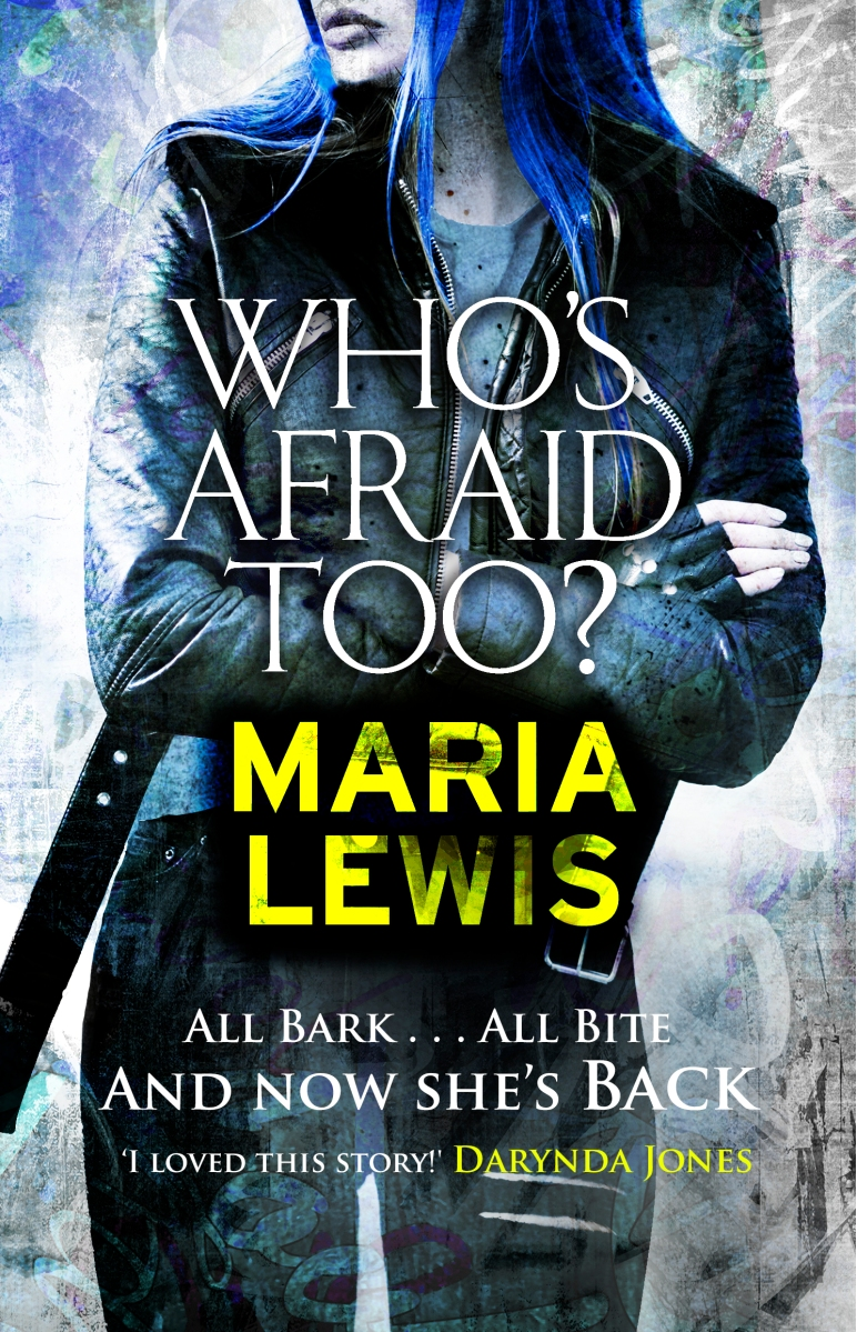 REVIEW: Maria Lewis' 'Who's Afraid Too?'
