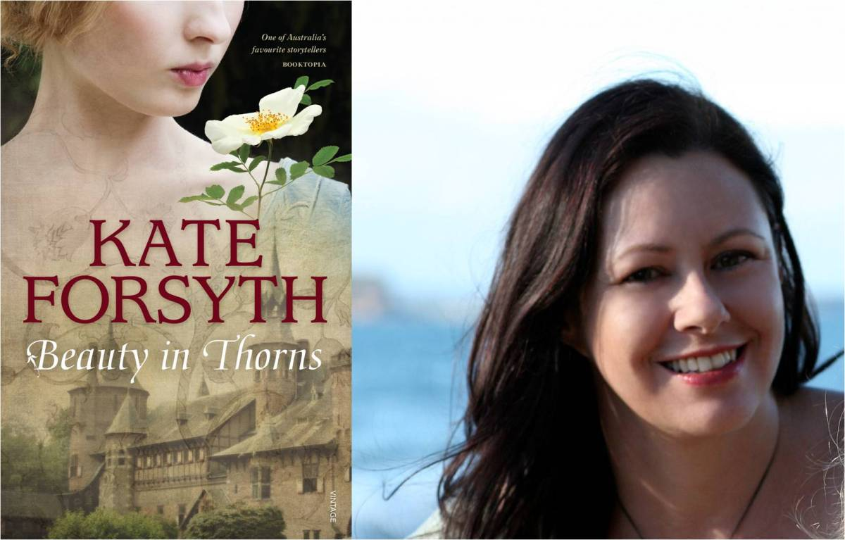 AUTHOR OF THE MONTH: Kate Forsyth